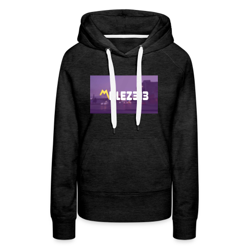 Millez313 with background Tee - Women's Premium Hoodie