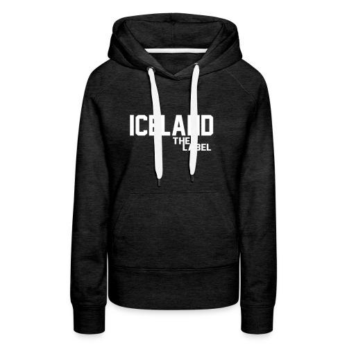 iceland_the_label_printable - Women's Premium Hoodie