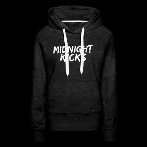 Midnight Kicks Logo - Women's Premium Hoodie
