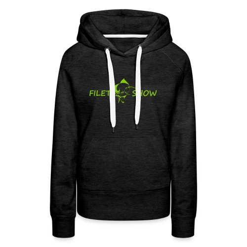 Green_logo_for_shirts - Women's Premium Hoodie