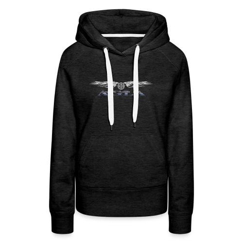 agla_t_shirt_bw - Women's Premium Hoodie