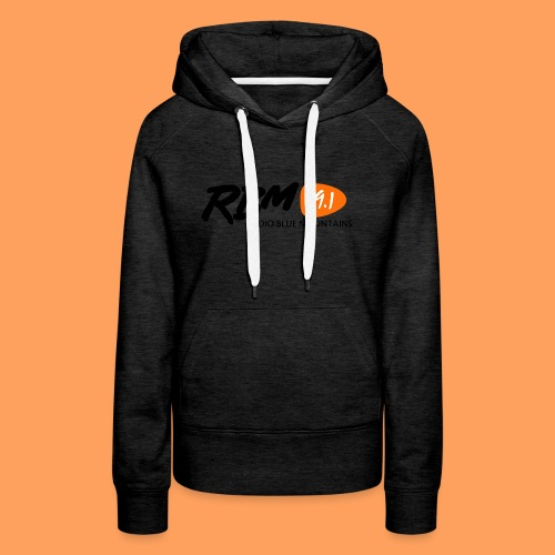 RBM Logo - Orange - Women's Premium Hoodie