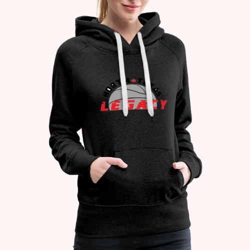 Legacy Basketball Logo - Women's Premium Hoodie