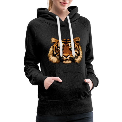 Tiger Thoughts - Women's Premium Hoodie