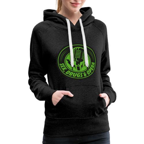Classic SDAO Logo - Women's Premium Hoodie