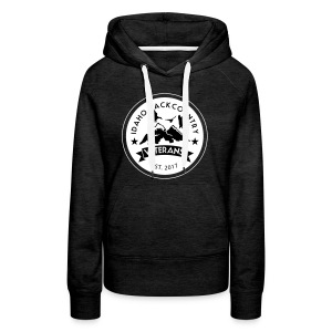 idaho hunting and fishing vets - Women's Premium Hoodie
