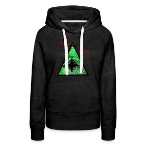illuminati Confirmed - Women's Premium Hoodie