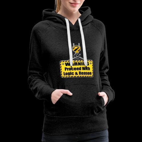 Warning - Women's Premium Hoodie