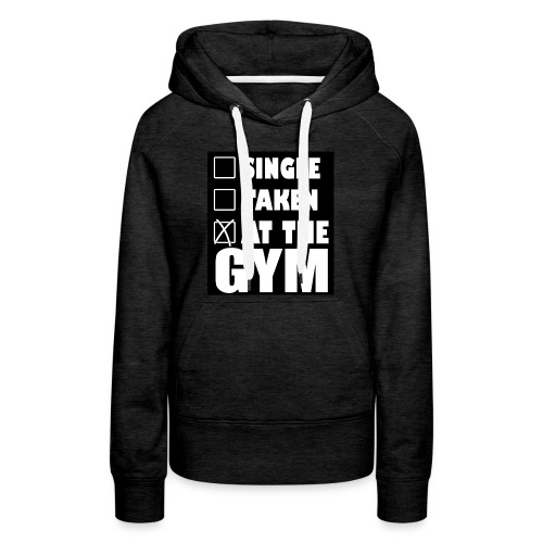At the Gym - Women's Premium Hoodie