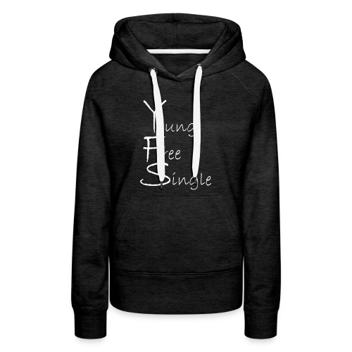 Young Free Single from Bent Sentimenta - Women's Premium Hoodie