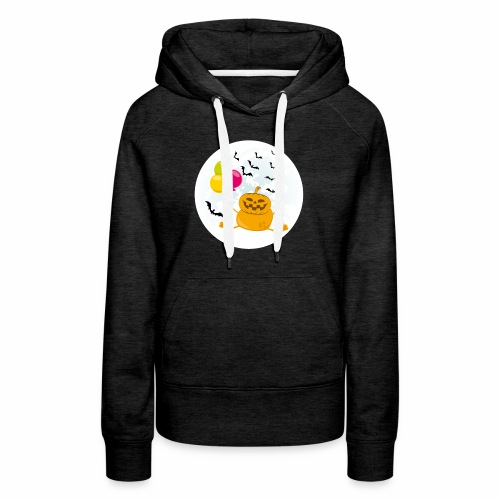 Scary & Funny Halloween Tee - For kids and adults - Women's Premium Hoodie