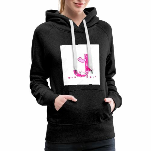 J.. stands for Jellybean - Women's Premium Hoodie