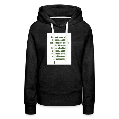 He_has_trouble_with_the_snap-1 - Women's Premium Hoodie
