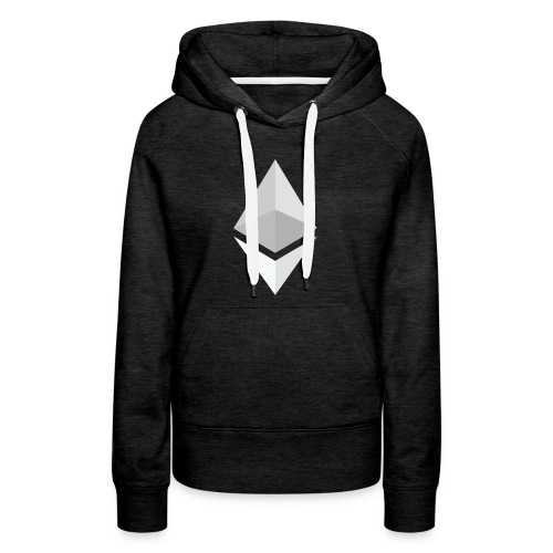 Ethereum Logo Light - Women's Premium Hoodie