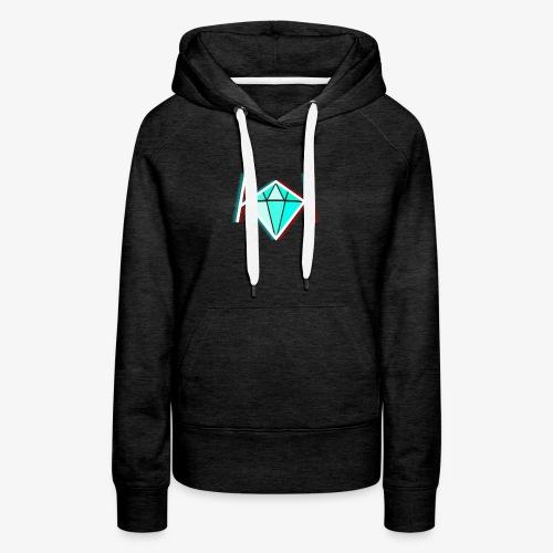 3D KK Diamond Logo - Women's Premium Hoodie