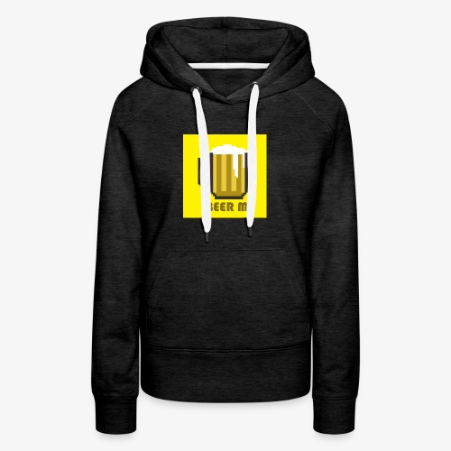 Beer Me in Yellow! - Women's Premium Hoodie