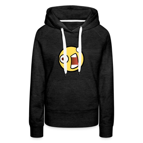 fear Emoticon - Women's Premium Hoodie
