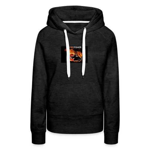 Fire_Fisher - Women's Premium Hoodie