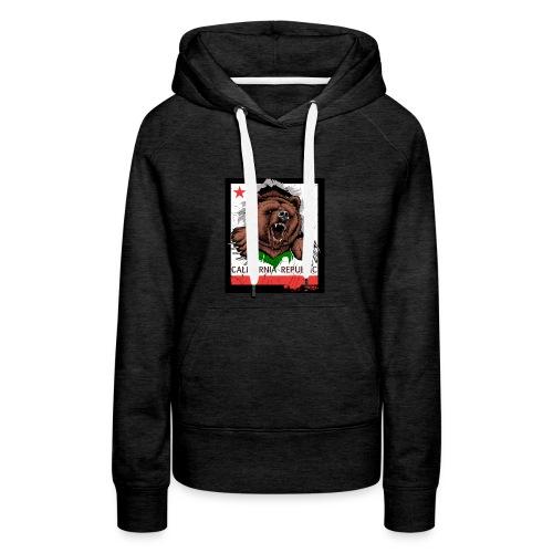 California Bear - Women's Premium Hoodie