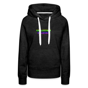 Cool Intros With Subscribe - Women's Premium Hoodie
