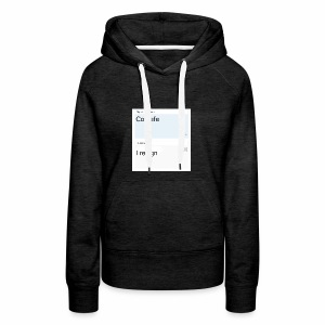 Covfefe translated to russian - Women's Premium Hoodie