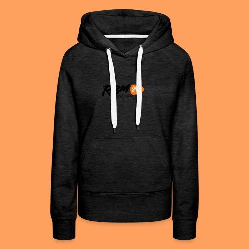 RBM Logo - Orange - Women's Premium Hoodie