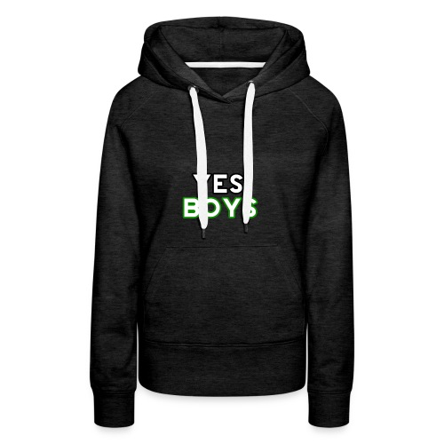 MERCHANDISE Yes Boys Campaign - Women's Premium Hoodie
