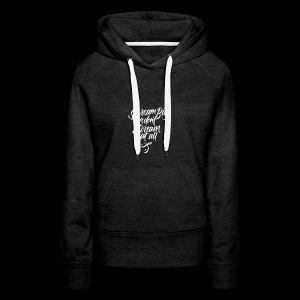 Dream More - Women's Premium Hoodie
