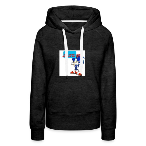 Why Don't you answer my texts - Women's Premium Hoodie