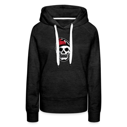 Custom Skull With Ice Cap Merch! - Women's Premium Hoodie