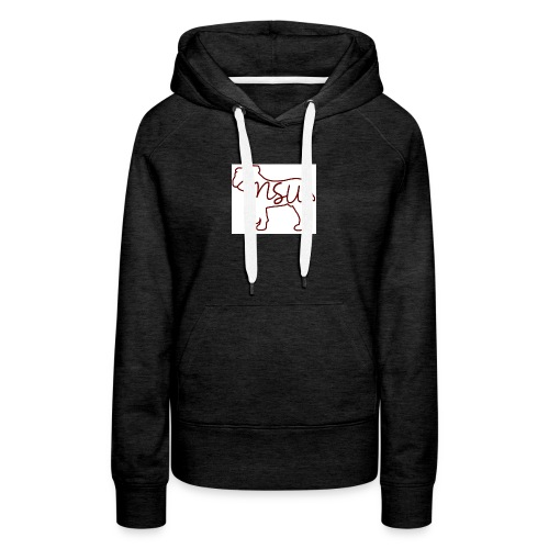 910a07ce5e52d5ad77965d0683b10d53 mississippi state - Women's Premium Hoodie