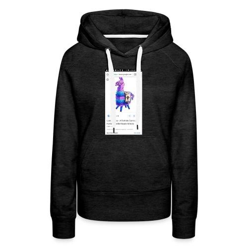 Loot Llamma - Women's Premium Hoodie