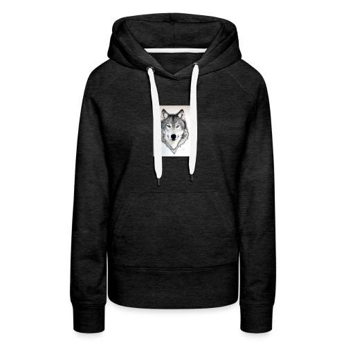 White Wolf - Women's Premium Hoodie