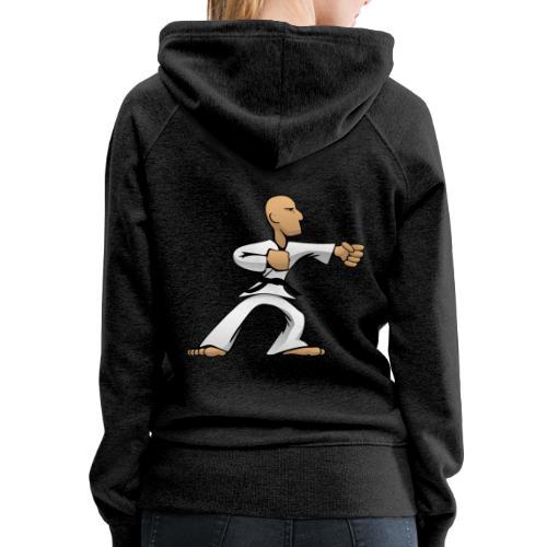 Martial Arts Dude - Women's Premium Hoodie