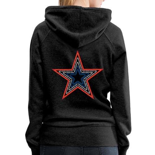 Roanoke Virginia Pride Mill Mountain Star - Women's Premium Hoodie