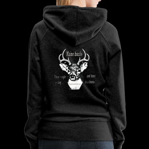 Maine Bucks - Women's Premium Hoodie