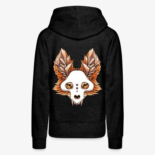 fox skull - Women's Premium Hoodie