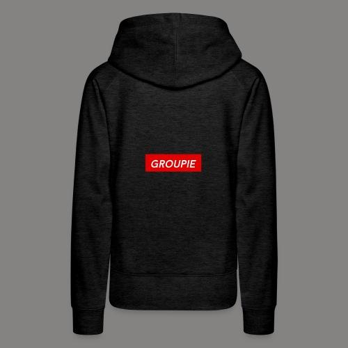 groupie - Women's Premium Hoodie