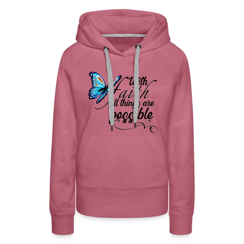 all things possible - Women's Premium Hoodie