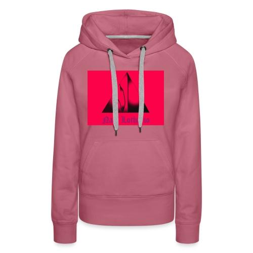 Pink Logo - Women's Premium Hoodie