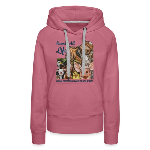 Respect All Life - Women's Premium Hoodie