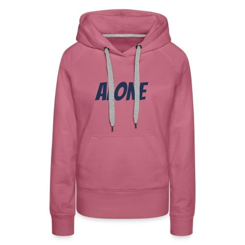 ALONE - Women's Premium Hoodie
