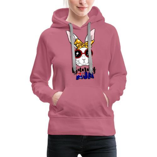 Aussie Bun Mum - Women's Premium Hoodie