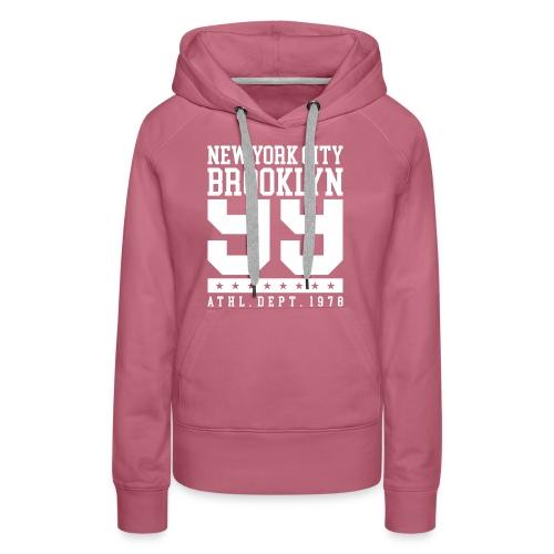 new york city brooklyn - Women's Premium Hoodie