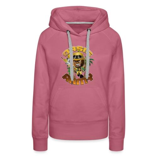 Oasis Army Coconot Logo - Women's Premium Hoodie