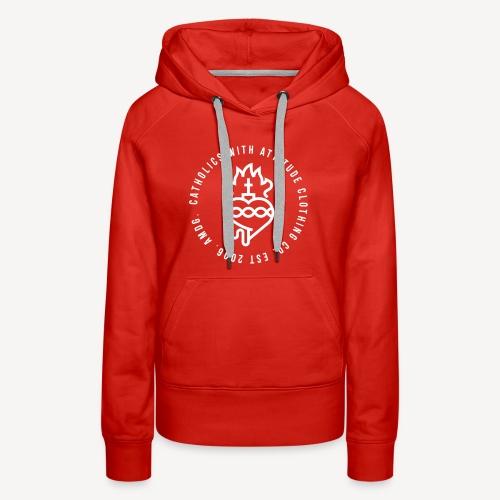 CATHOLICS WITH ATTITUDE CLOTHING CO. - Women's Premium Hoodie