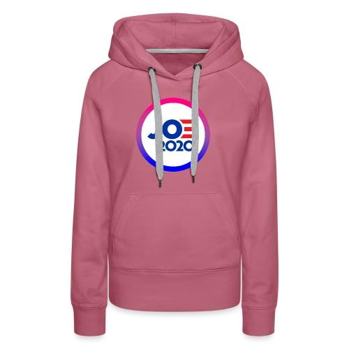 JOE 2020 White - Women's Premium Hoodie