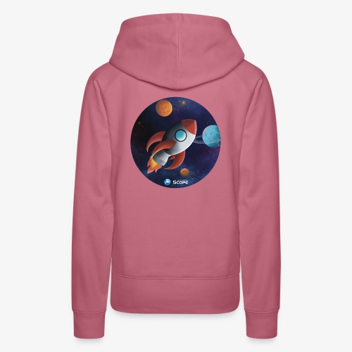 Solar System Scope : Little Space Explorer - Women's Premium Hoodie