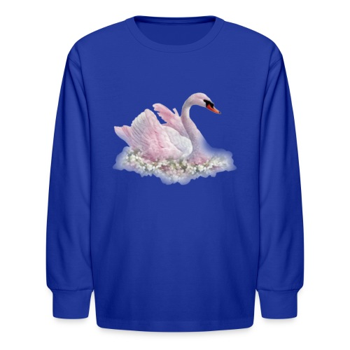 Swan 2 - Kids' Long Sleeve T-Shirt