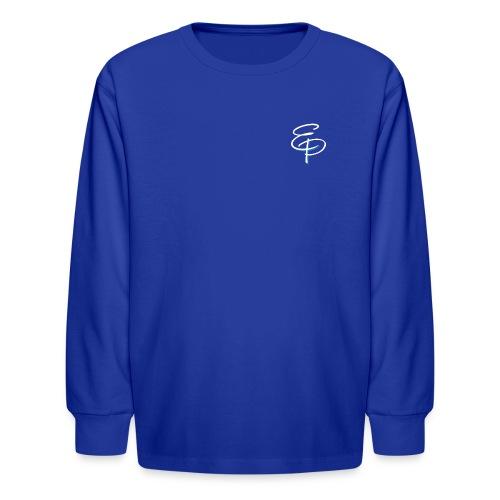 EP Letter Logo - Kids' Long Sleeve T-Shirt